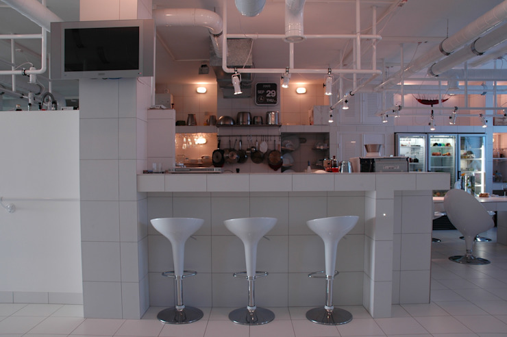 Industrial style kitchen by Archivolto Industrial