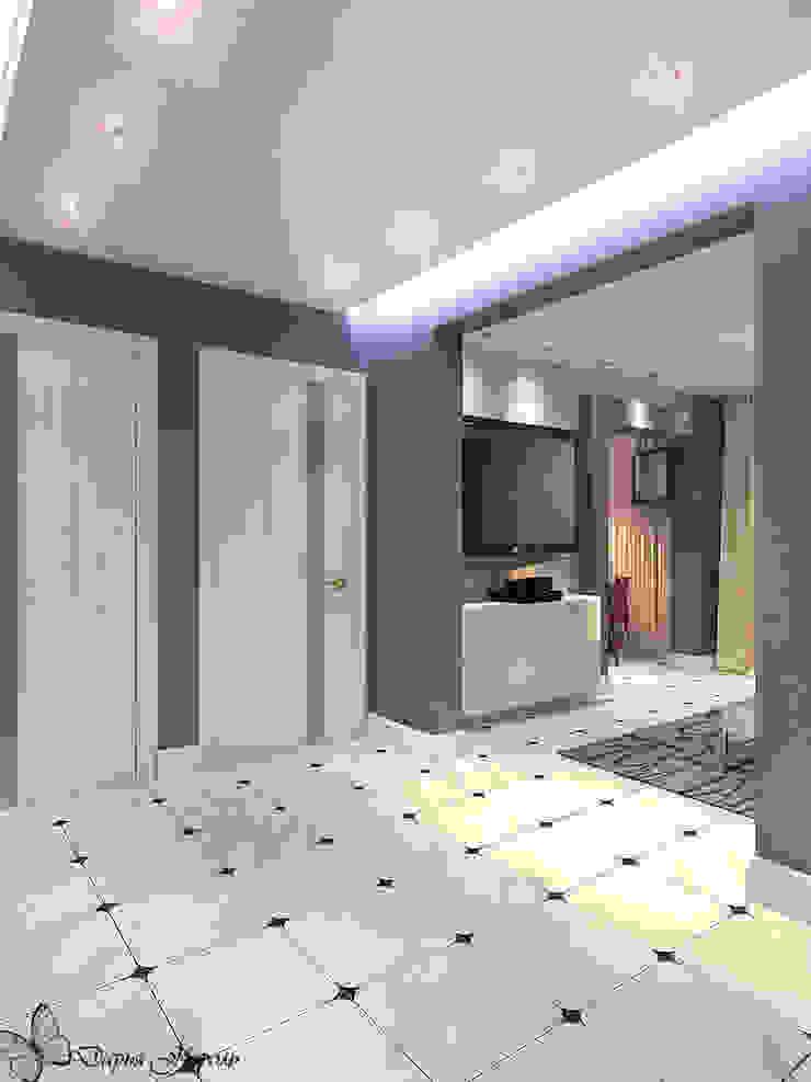 Panel flat <q>Urban theme</q> Коридор, прихожая и лестница в стиле минимализм от Your royal design Минимализм