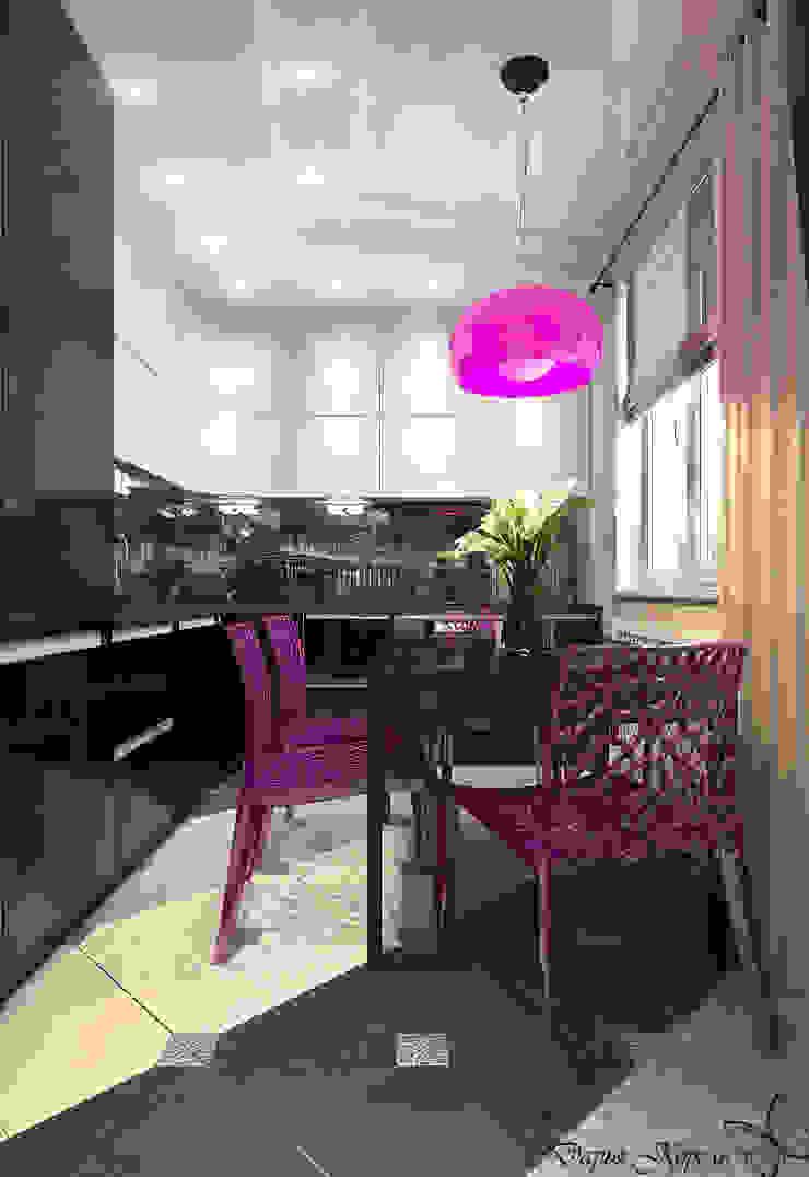 Panel flat <q>Urban theme</q> Кухня в стиле минимализм от Your royal design Минимализм
