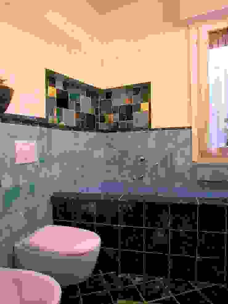 Eklektyczna łazienka od Studio Tecnico MB architettura Eklektyczny