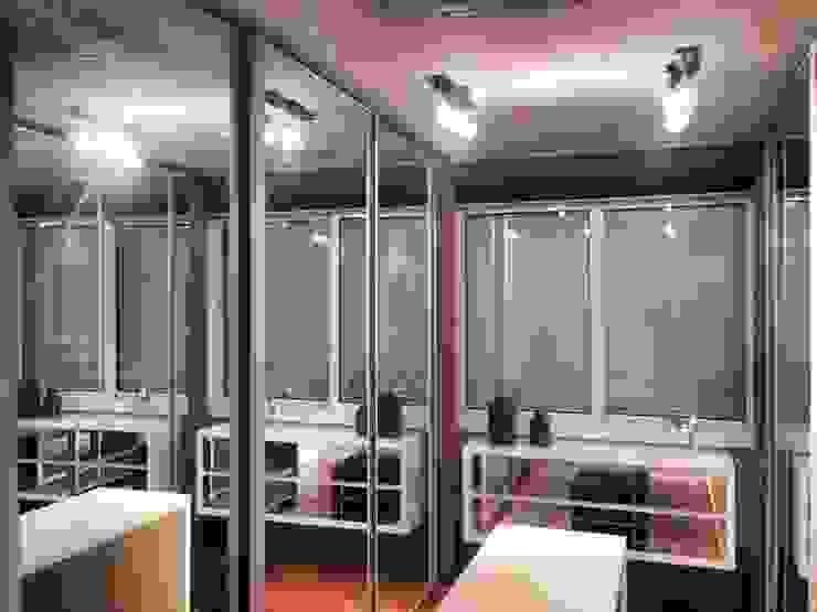 Dressing room by Motta Viegas arquitetura + design, Modern Wood Wood effect