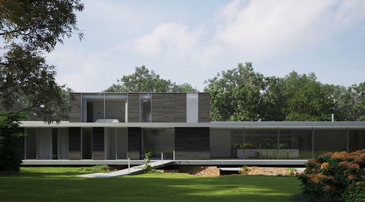 Private House, Suffolk من Strom Architects بحر أبيض متوسط