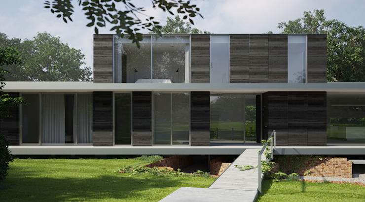 Private House, Suffolk Scandinavian style houses by Strom Architects Scandinavian