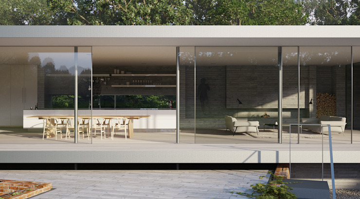 Private House, Suffolk Minimalist houses by Strom Architects Minimalist