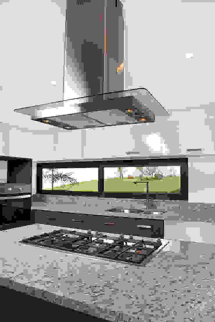 Casa RDM45 Cocinas modernas de VG+VM Arquitectos Moderno