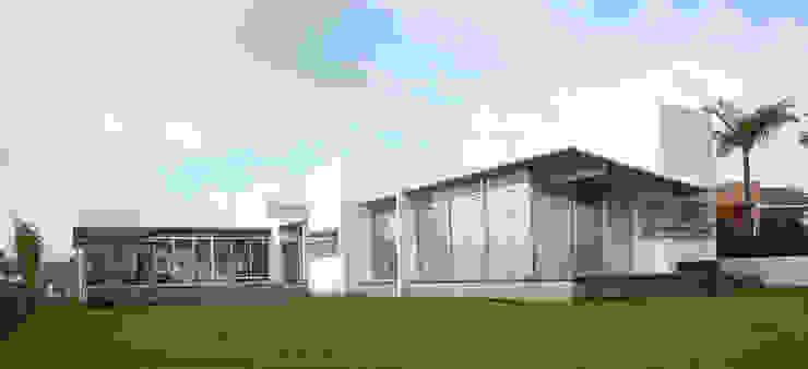 Casa Aburto Balcones y terrazas modernos de VG+VM Arquitectos Moderno