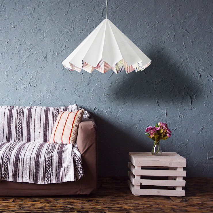SWING suspension lamp _ cold colors pattern di metrocuadro-design Minimalista