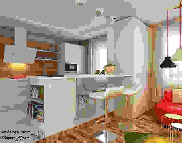 Apartment A brave people Кухня в стиле лофт от Your royal design Лофт