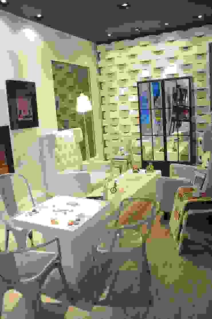 Renata Amado Arquitetura de Interiores Living room