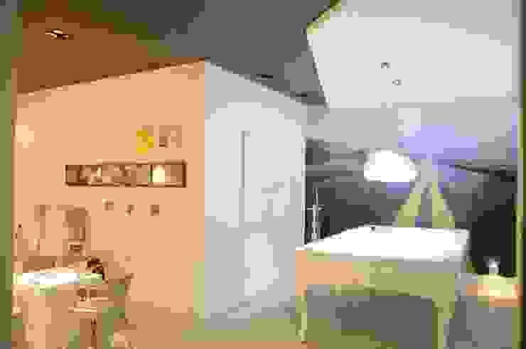 Renata Amado Arquitetura de Interiores Minimalist garage/shed