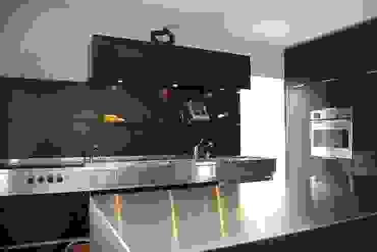 schwarz Haus Moderne Küchen von schwarzID Modern