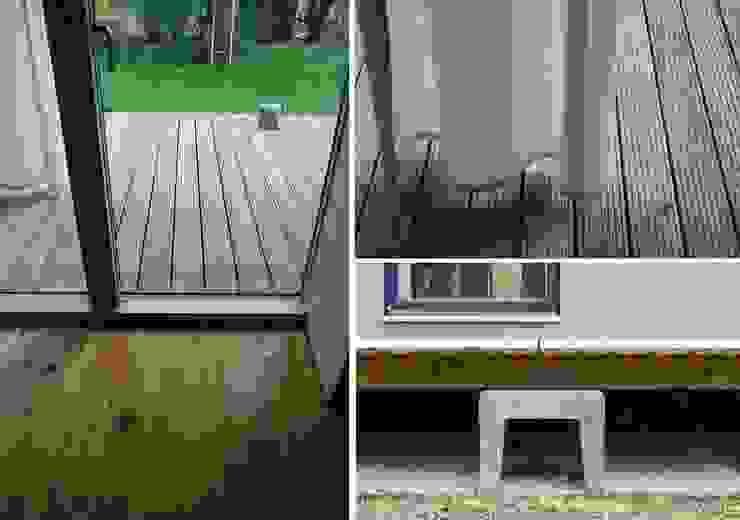 schwarz Haus Minimalistische Wände & Böden von schwarzID Minimalistisch