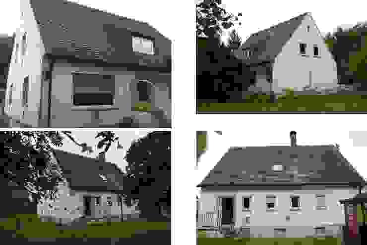 schwarz Haus von schwarzID Minimalistisch