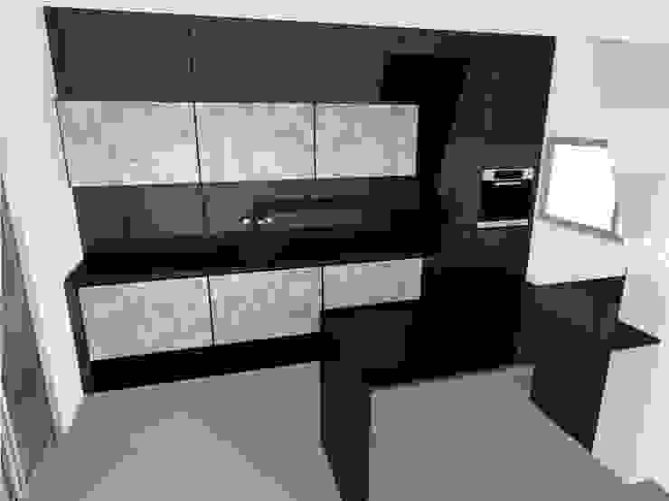 diseño de cocinas con Arrital y Doimo Cocinas de estilo minimalista de noe vega interiorismo Minimalista