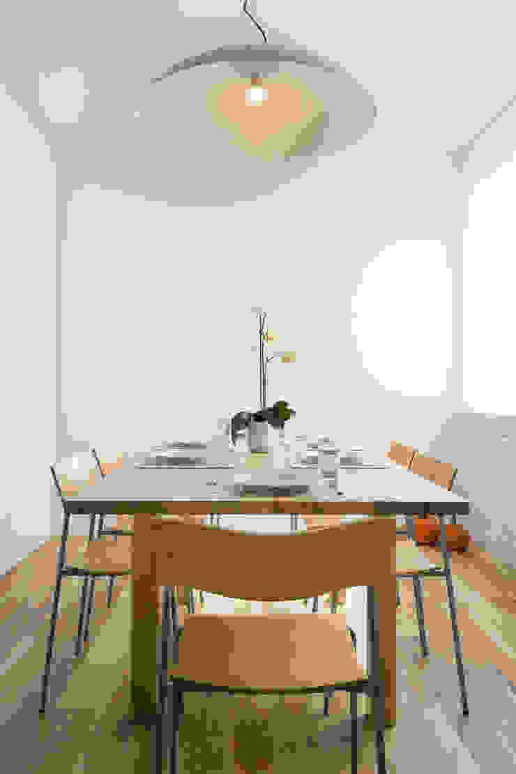 Jacek Tryc-wnętrza Minimalist dining room