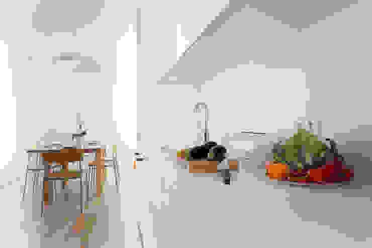 Jacek Tryc-wnętrza Minimalist kitchen