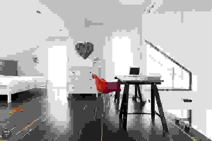 Sypialnia: styl , w kategorii Sypialnia zaprojektowany przez stabrawa.pl,Skandynawski
