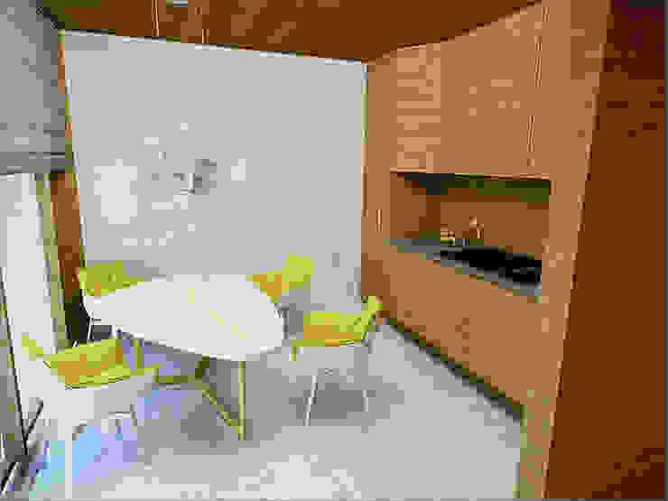 Кухня Кухня в стиле минимализм от 16dots Минимализм