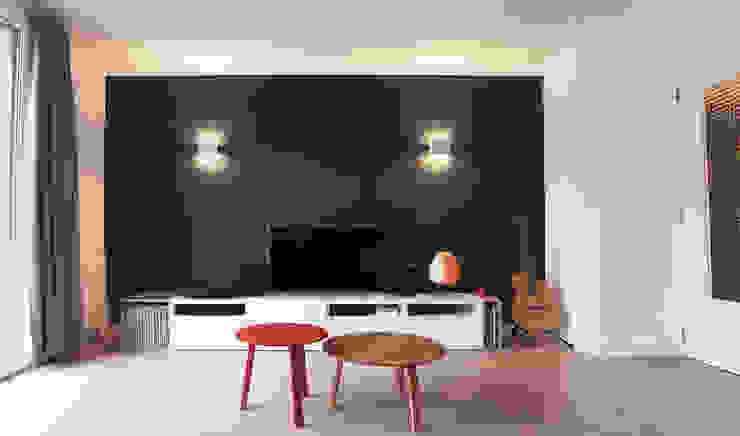 Salon Salon moderne par Antoine Chatiliez Moderne Bois Effet bois