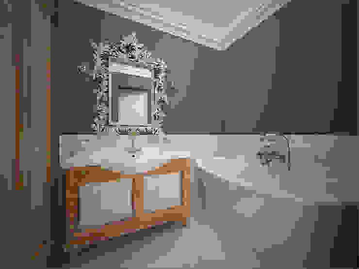 Bathroom Baños de estilo clásico de 16dots Clásico