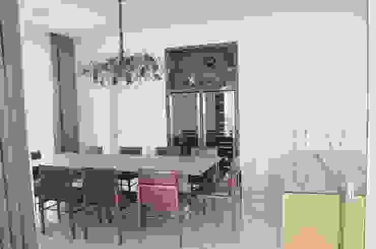 Casa Alto da Boa Vista Salas de jantar modernas por Renata Amado Arquitetura de Interiores Moderno