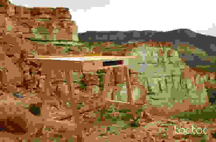 ESCRITORIO MESETA: Estudio de estilo  por TocToc - Muebles y Objetos Argentinos