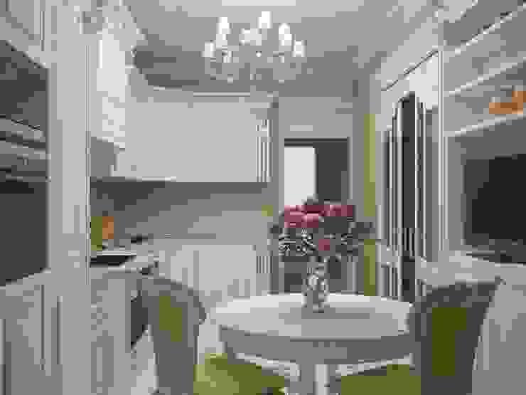 Традиционная элегантность неолкассицизма Кухни в эклектичном стиле от Лойе Ирина Эклектичный