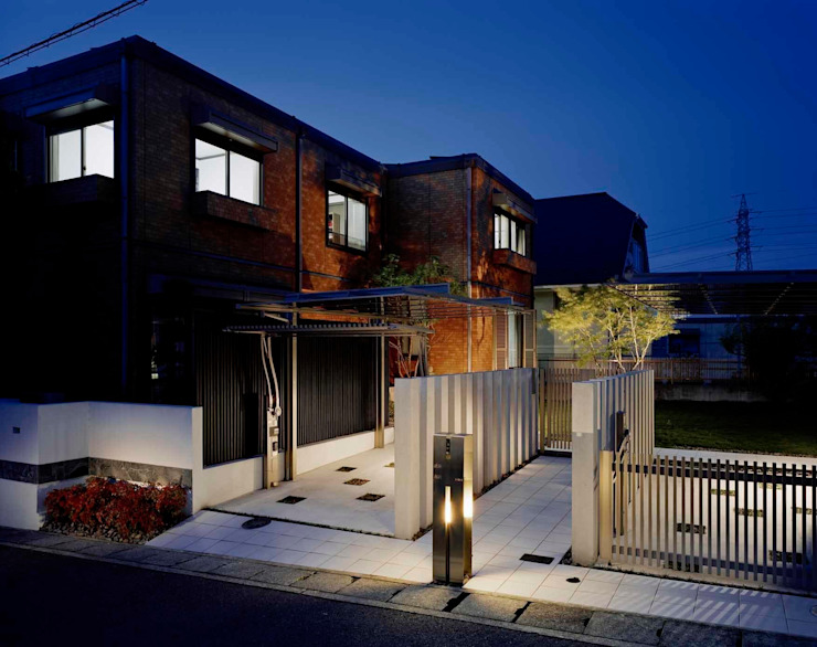 Modern Houses by sotoDesign 株式会社竹本造園 Modern