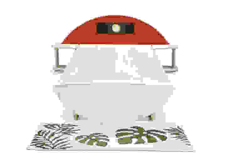 桐のベッド「一目惚れ」: 桐里工房が手掛けた現代のです。,モダン
