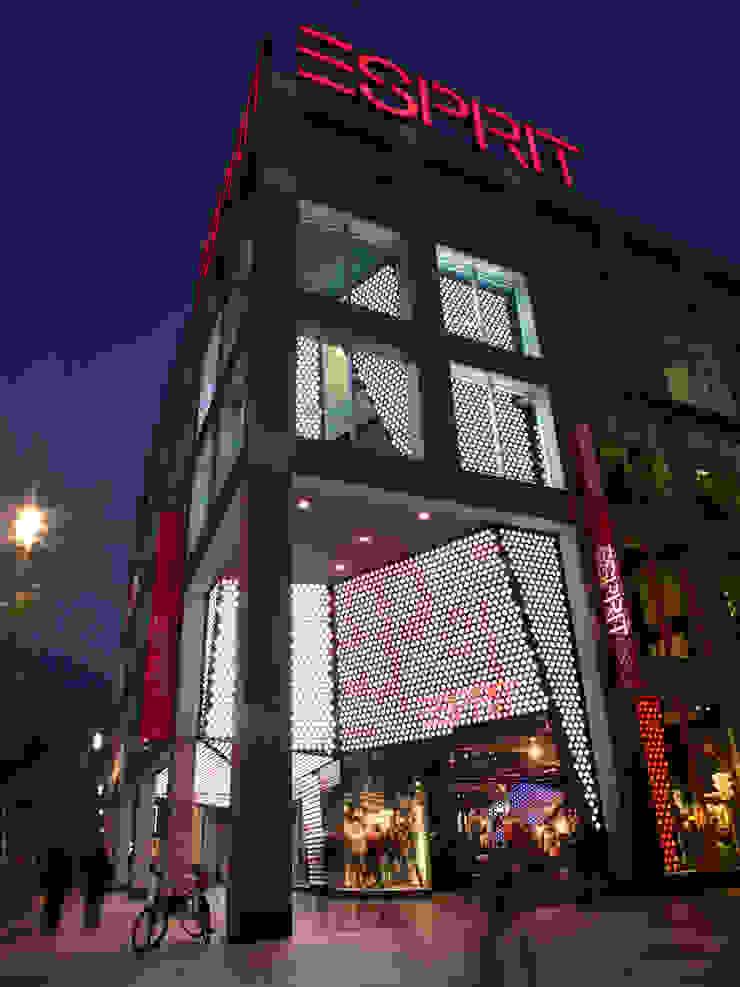 Esprit Frankfurt Corneille Uedingslohmann Architekten Modern offices & stores