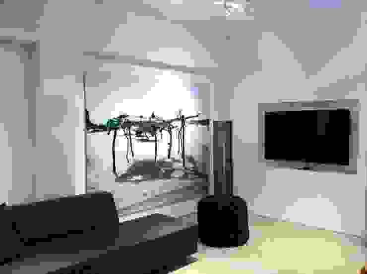 Modern media room by Custom Cinema Modern