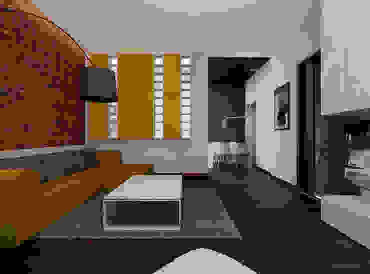 Ale design Grzegorz Grzywacz Ruang Keluarga Gaya Skandinavia