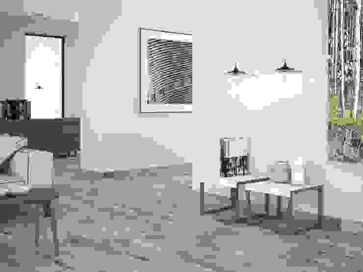 Bosse Gres imitación a madera Paredes y suelos de estilo minimalista de INTERAZULEJO Minimalista