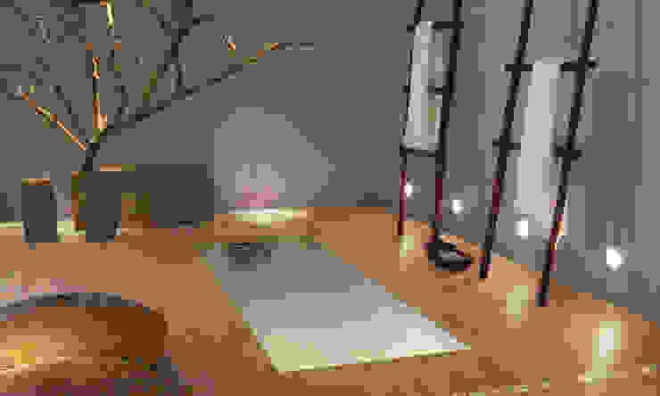 Lofty Porcelánico imitación a madera Spa de estilo escandinavo de INTERAZULEJO Escandinavo