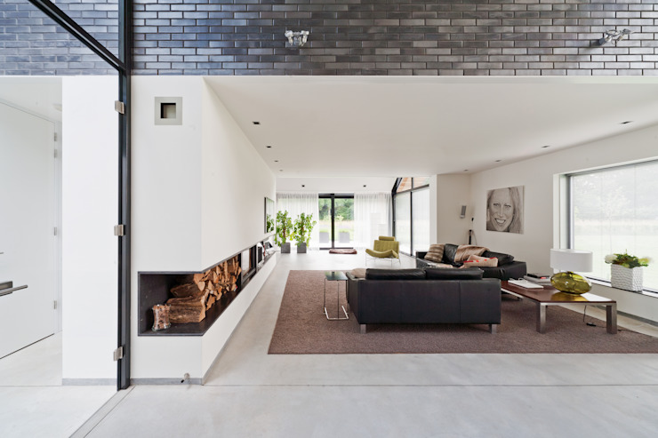 Modern living room by Beltman Architecten Modern