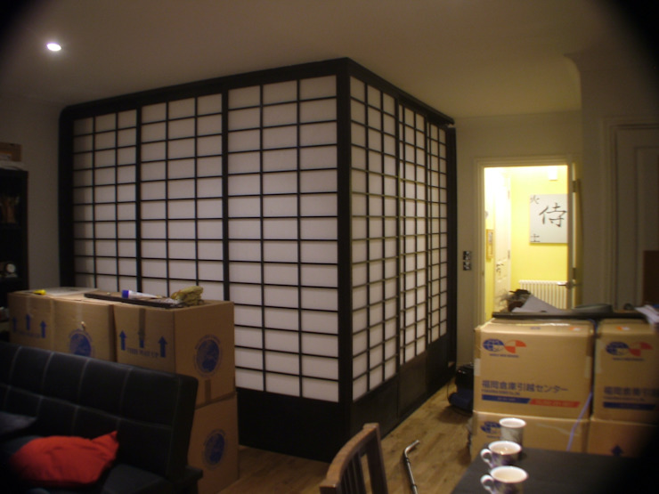Office Asian style living room by Shades Of Japan Asian