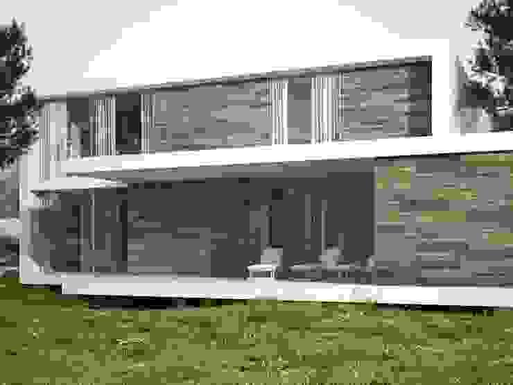 Nuey Porcelánico imitación a madera Casas de estilo escandinavo de INTERAZULEJO Escandinavo