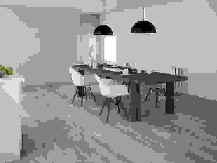 INTERAZULEJO Scandinavian style dining room