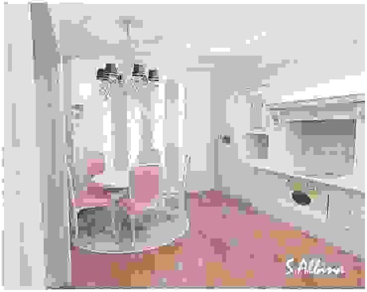 Дизайн – проект таунхауса. Выполнен в классическом стиле. г. Казань. Кухня в классическом стиле от студия авторского дизайна Альбины Сибагатулиной Классический