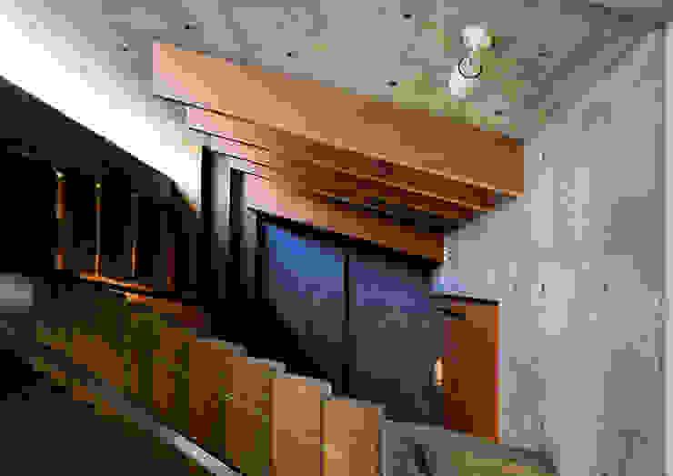 代田の住宅 モダンスタイルの 玄関&廊下&階段 の 井上洋介建築研究所 モダン