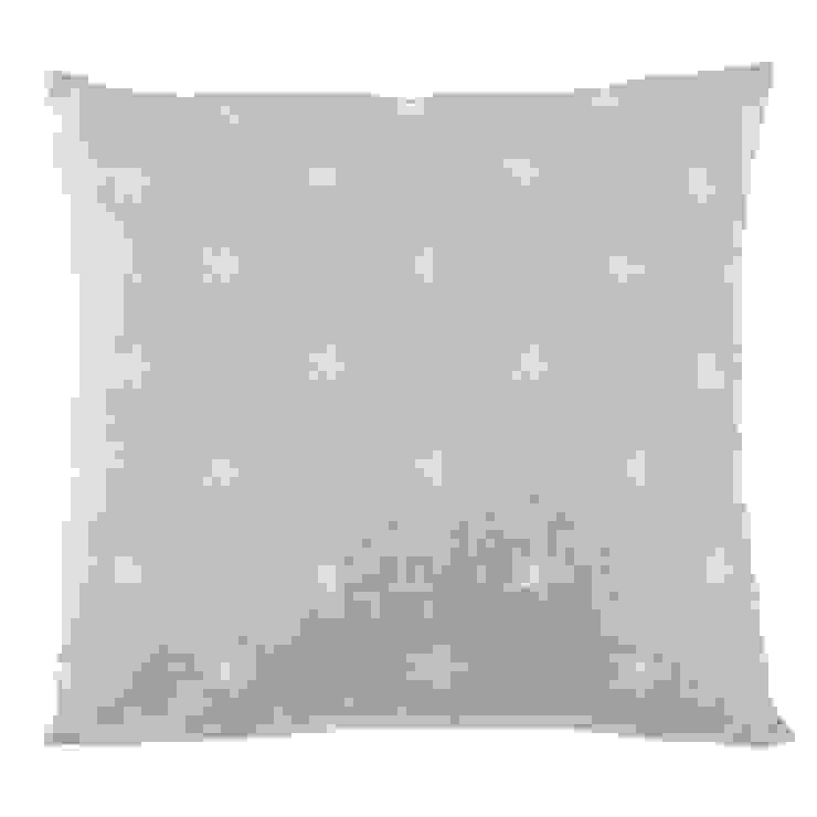 Poduszka Stjärna grå od Lilla Sky Śródziemnomorski