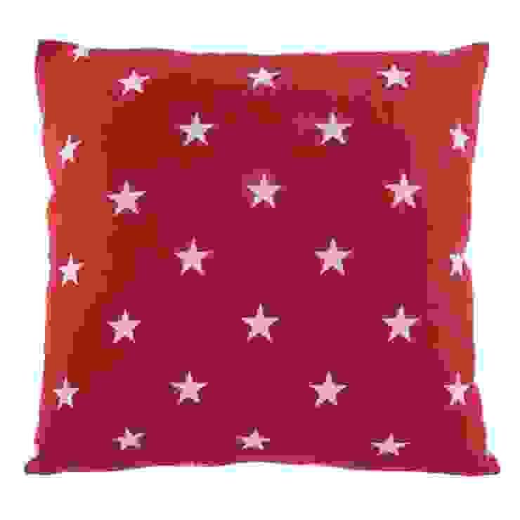 Poduszka Stjärna röd od Lilla Sky Śródziemnomorski
