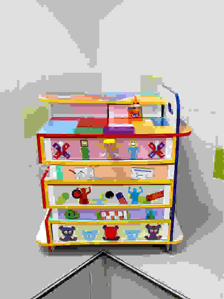 Bewust Belonen Box | Wilhelmina Kinderziekenhuis Utrecht: modern  door studio Che Eyzenbach, Modern