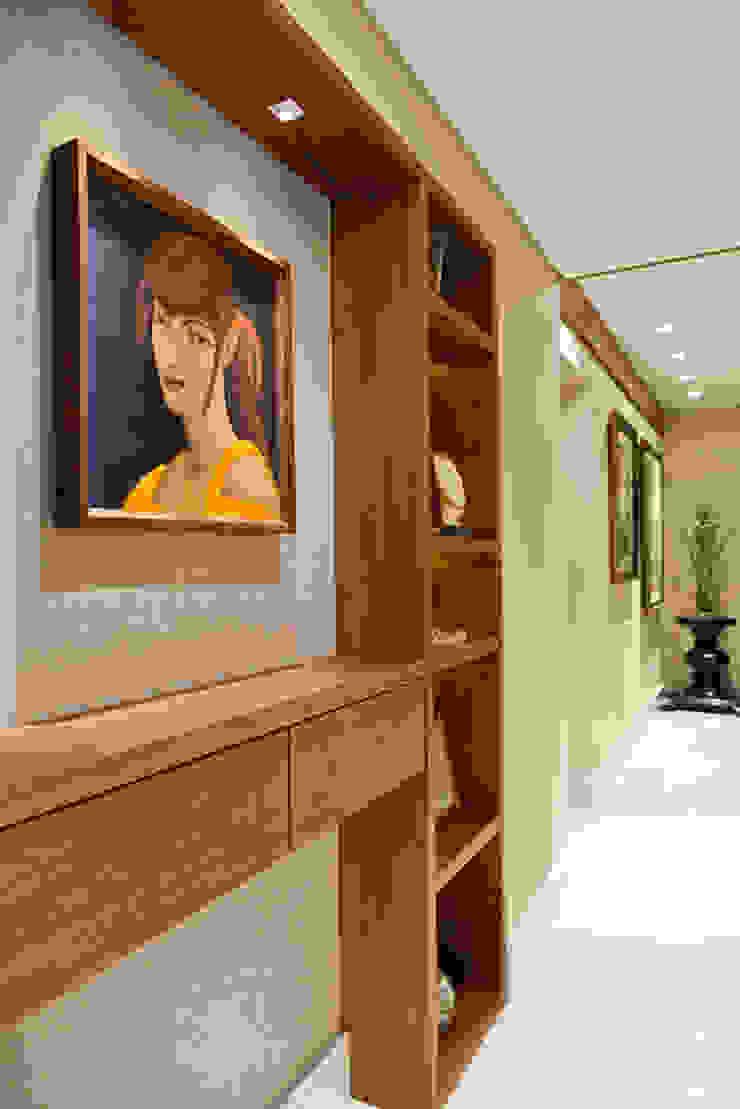 Apartamento Tito Livio Corredores, halls e escadas modernos por Mariana M Simoes arquitetura conceitual Moderno