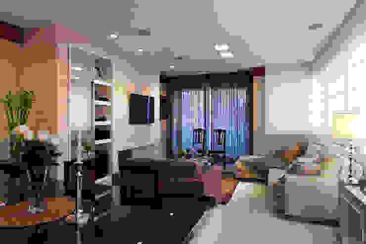 Apartamento Tito Livio Salas de estar modernas por Mariana M Simoes arquitetura conceitual Moderno