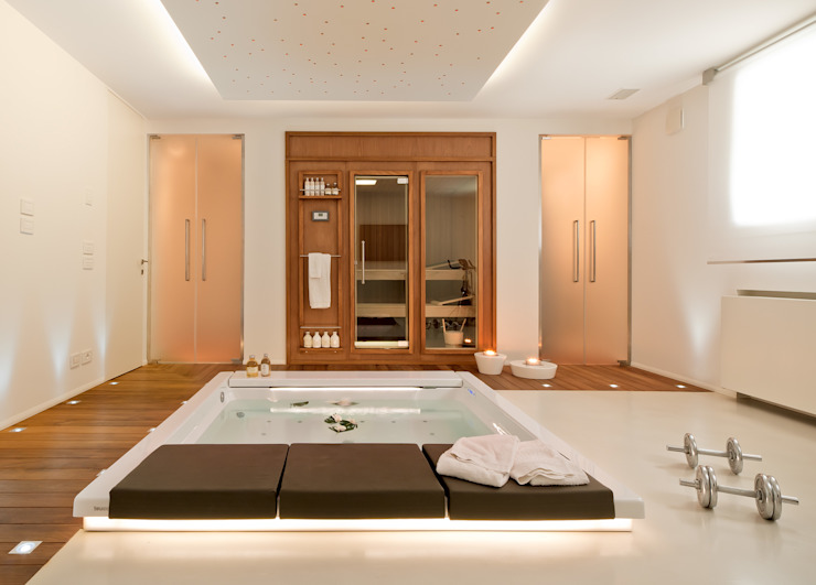 Eclectic style spa by STUDIO CERON & CERON Eclectic