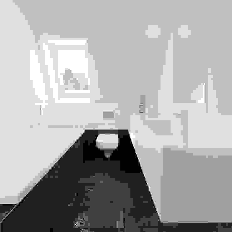 MIESZKANIE AB Minimalistyczna łazienka od 081 architekci Minimalistyczny