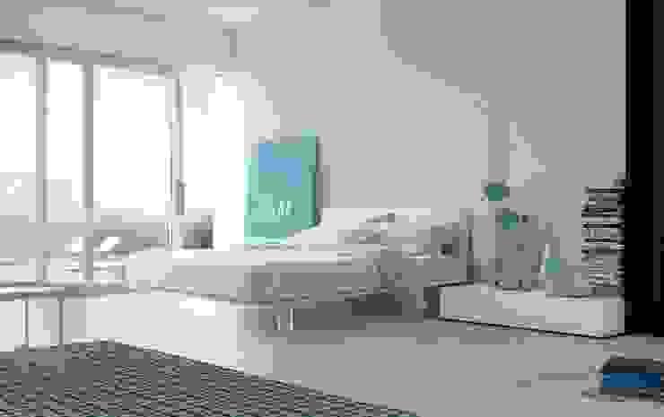 Filo Bed: modern  by Campbell Watson, Modern