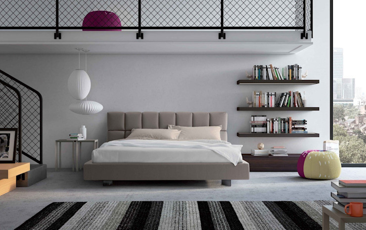 Cubic Bed: modern  by Campbell Watson, Modern