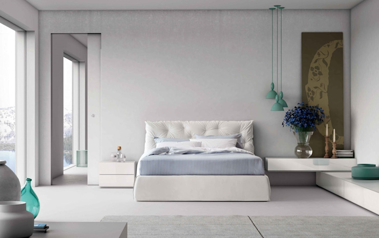 Impunto Maxi Bed: modern  by Campbell Watson, Modern